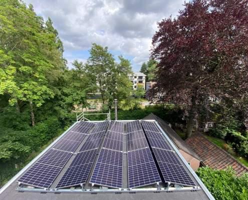 Zonnepanelen Hilversum eindresultaat