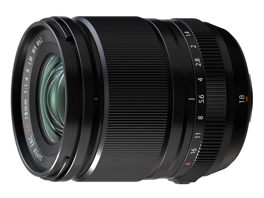 Annunciato ufficialmente l'obiettivo Fujifilm XF 18mm f / 1.4 R LM WR