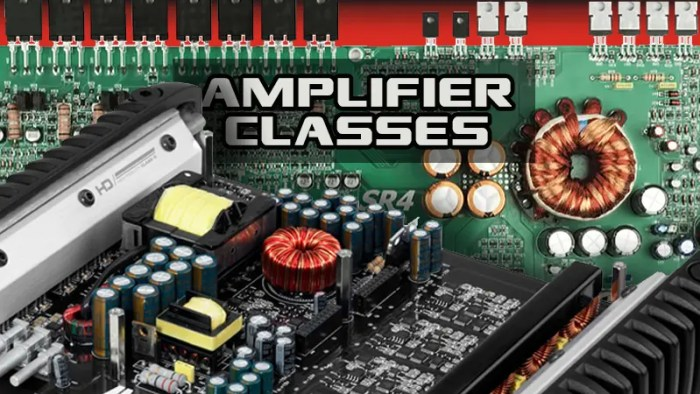 Amplifier Classes