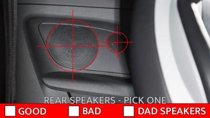 Rear Speakers