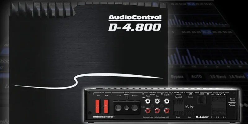 Product Spotlight: AudioControl D-4.800 Amplifier