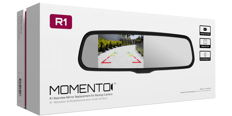 Product Spotlight: Momento R1 Rearview Mirror