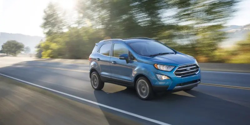 2018 Ford EcoSport. Meet the Smallest Ford SUV that is Big on Charm