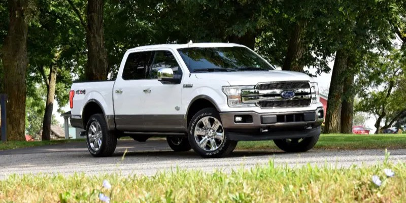 2018 Ford F-150 Platinum.  King of the Truck Hill?