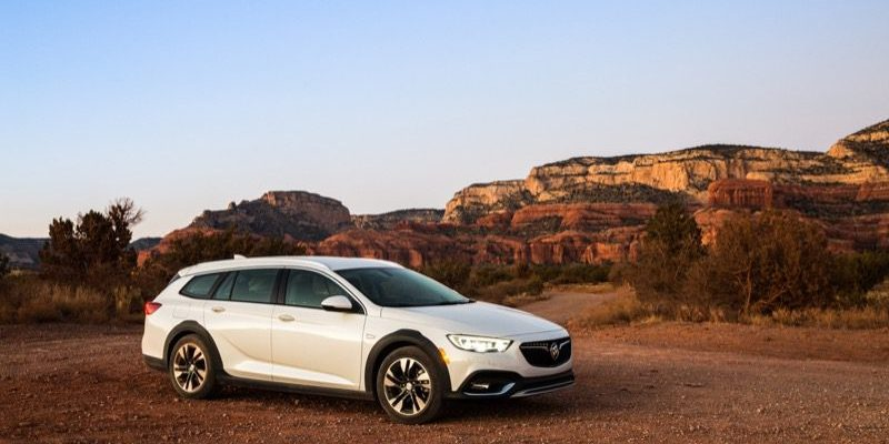 2018 Buick Regal TourX.  No Family Truckster Here!