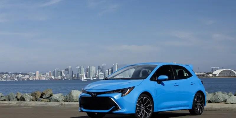 2019 Corolla Hatchback. Hot Hatch or Haute Hatch? Both!