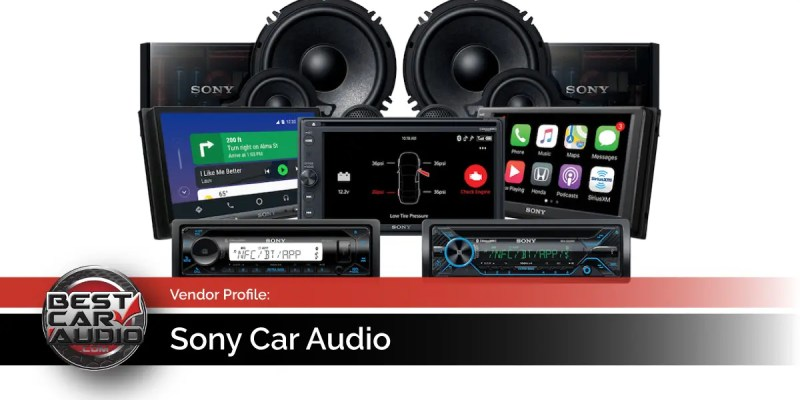 Mobile Enhancement Vendor Profile: Sony Car Audio