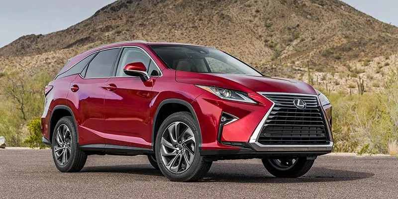2019 Lexus RX 350L. Go Big or Go Home!