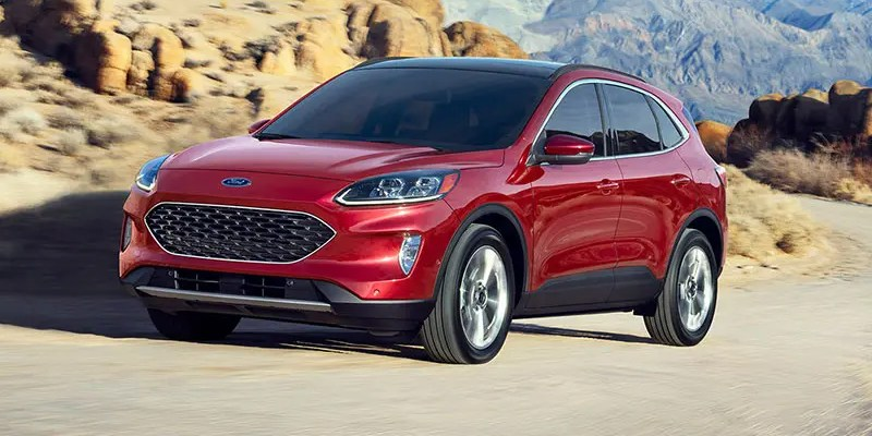 2020 Ford Escape Titanium. Escape Path!