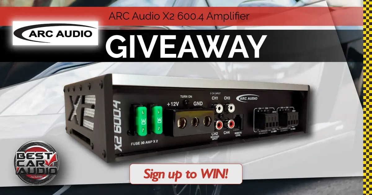 Arc Audio Giveaway