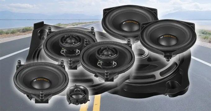 Mercedes Speakers