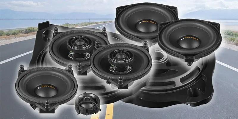 Mercedes-Benz Speaker Upgrades From Match