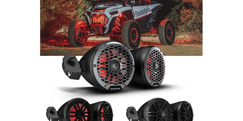 Rockford Fosgate® Begins Shipping New Motorsports Can Speakers