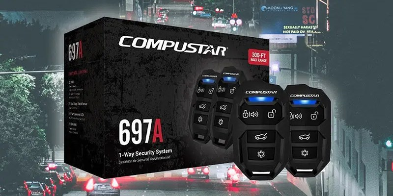 Product Spotlight: Compustar CS697-A Vehicle Security System