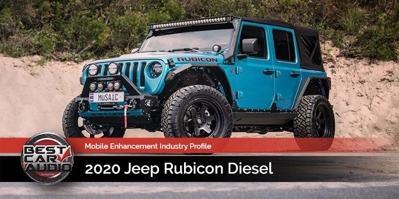 Mobile Enhancement Industry Profile: 2020 Jeep Rubicon Diesel