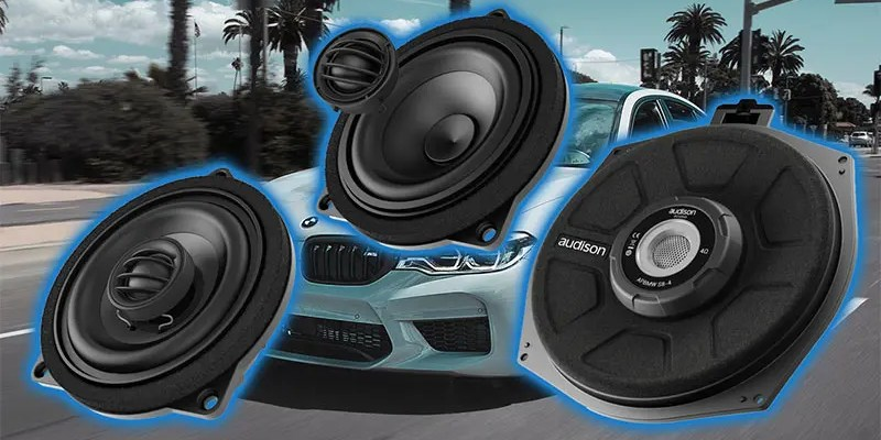 Product Spotlight: Audison Speaker Upgrades for BMWs and Minis