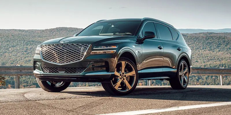 2021 Genesis Gv80. An SUV Loaded With Industry-Firsts
