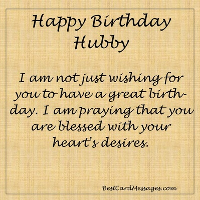 Husband Birthday Card Messages Best Card Messages