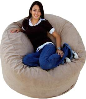 Cozy Sack 4-Feet Bean Bag Chair in Large Size