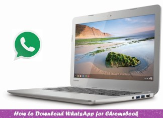 WhatsApp for Chromebook