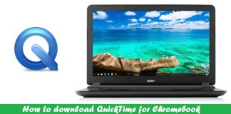 Quicktime for Chromebook