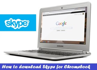 Download Skype for Chromebook