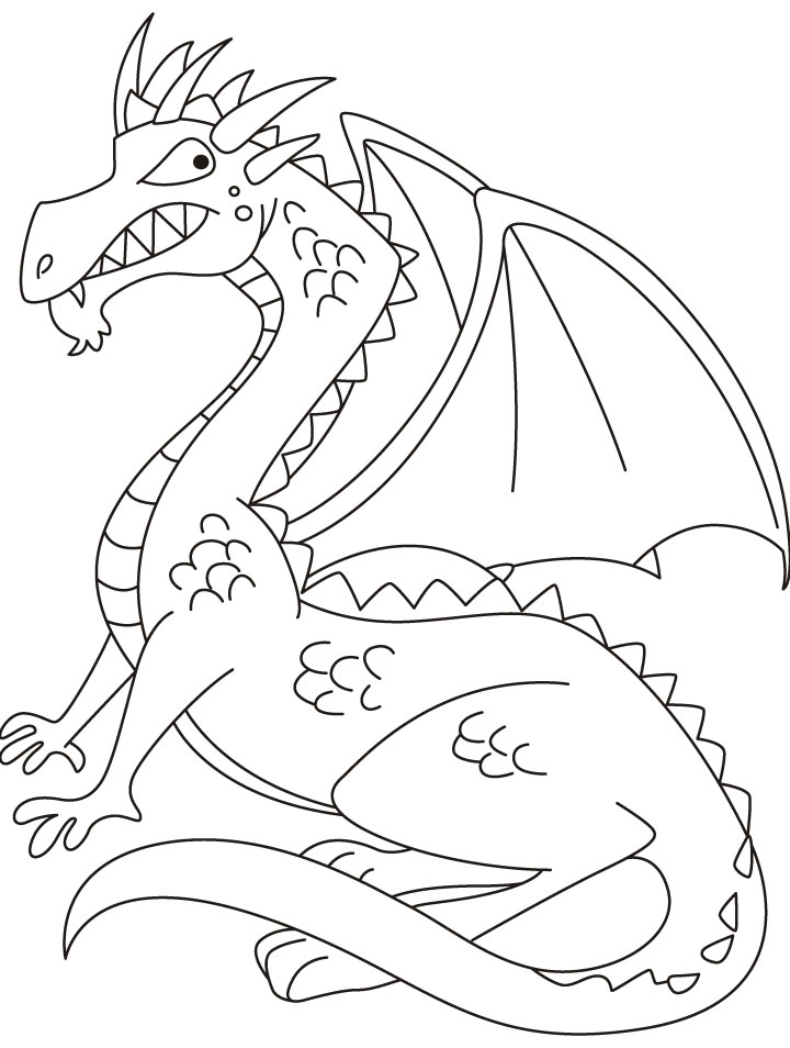 wing colouring pages page 2