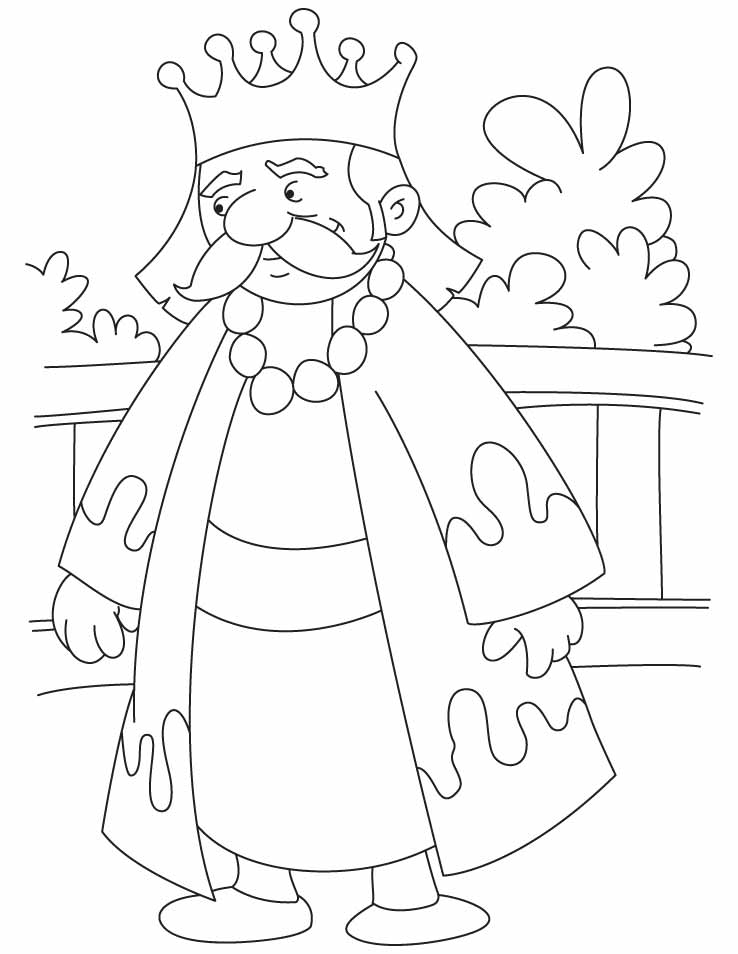 great king akbar coloring pages