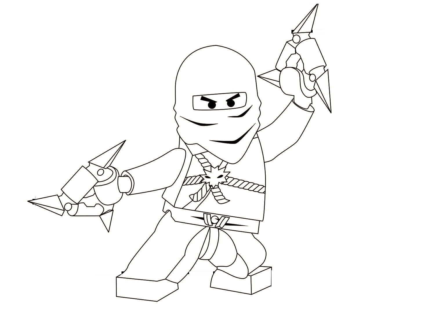 Ninjago Fighting Coloring Pages Coloring Pages