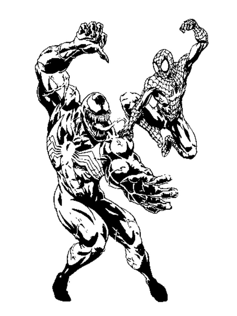 Free Spiderman Coloring Pages Free Printable Spiderman Coloring
