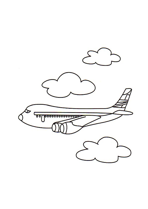 free propeller prop plane coloring page plane colouring pages