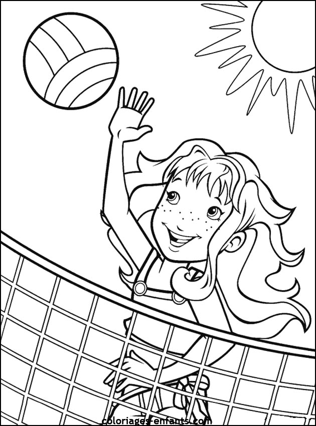 coloring pages of sports jpg