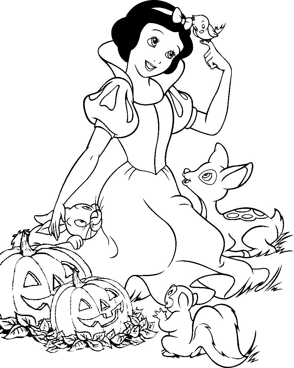 Printable Coloring Pages Disney Princess Flogfolioweekly