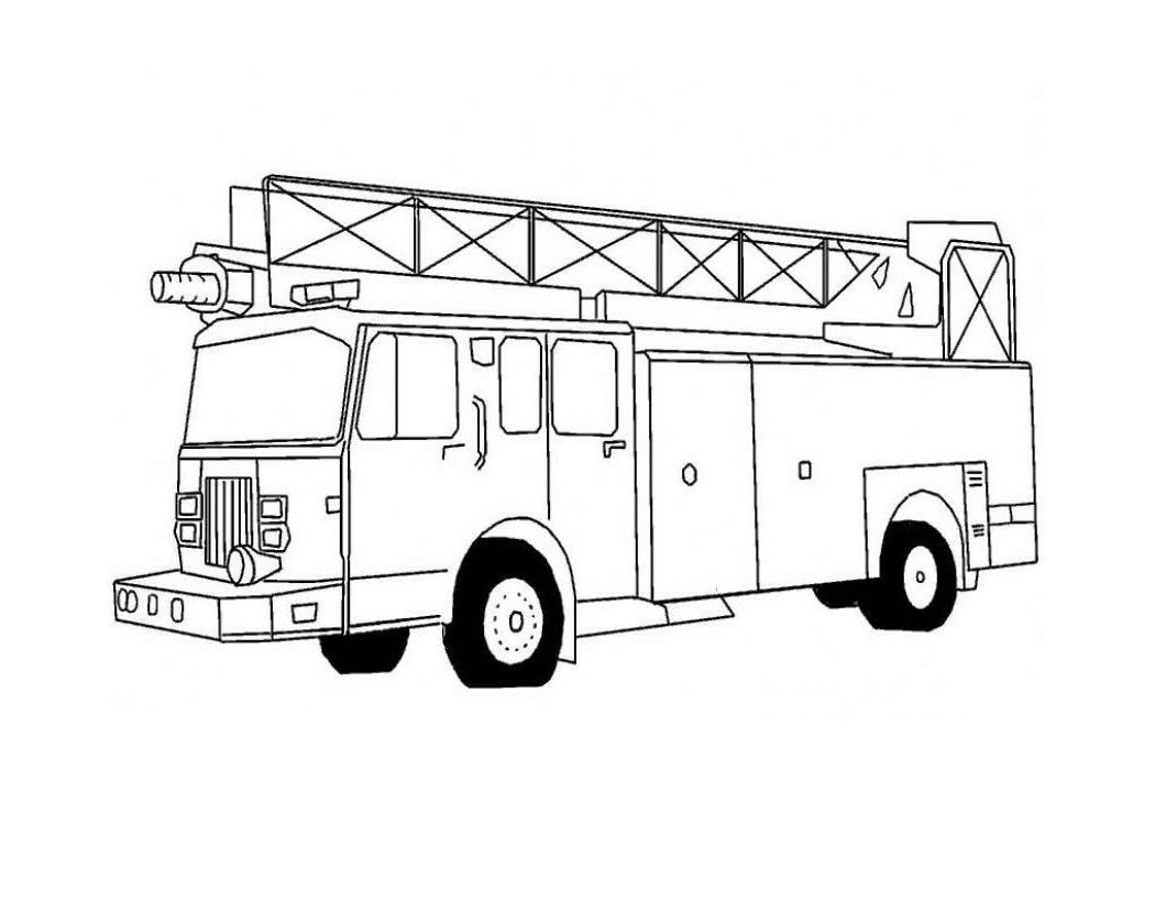 fire truck coloring pages to print fire truck coloring pages
