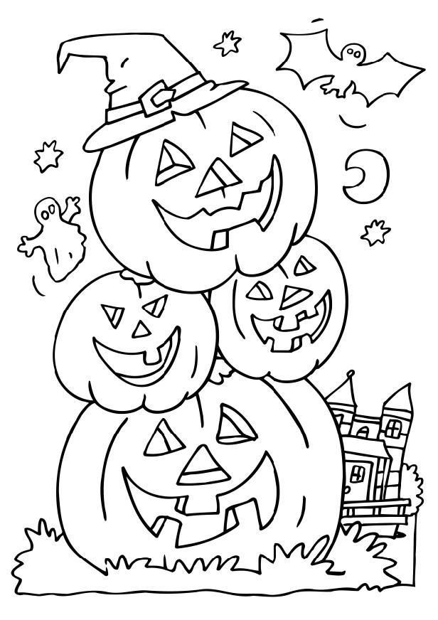 halloween printable coloring pages halloween colouring page