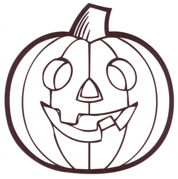 pumpkin coloring pages to print # 1