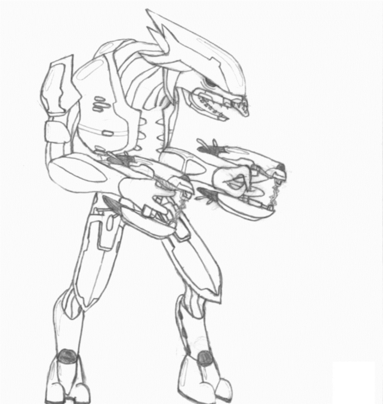 Halo Coloring Sheets halo 5 free coloring pages printable Halo ... | 1313x1245