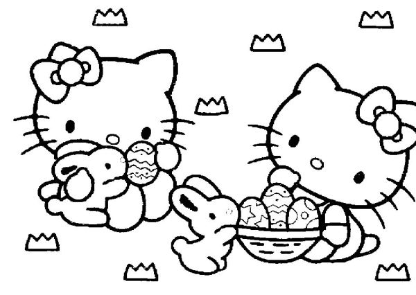 hello kitty free coloring pages # 19