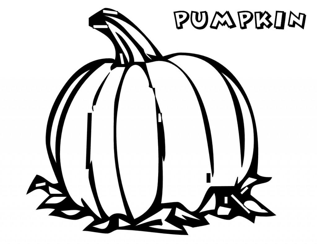 10 Color Pumpkin Worksheet