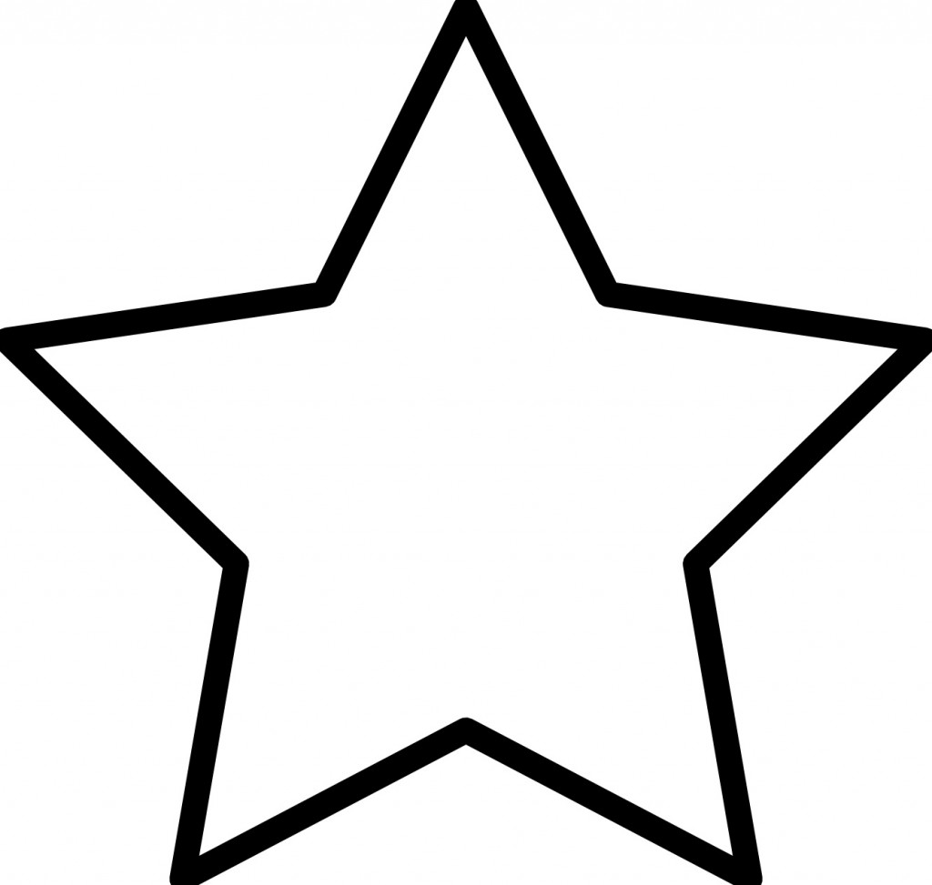 Free Printable Star Coloring Pages For Kids