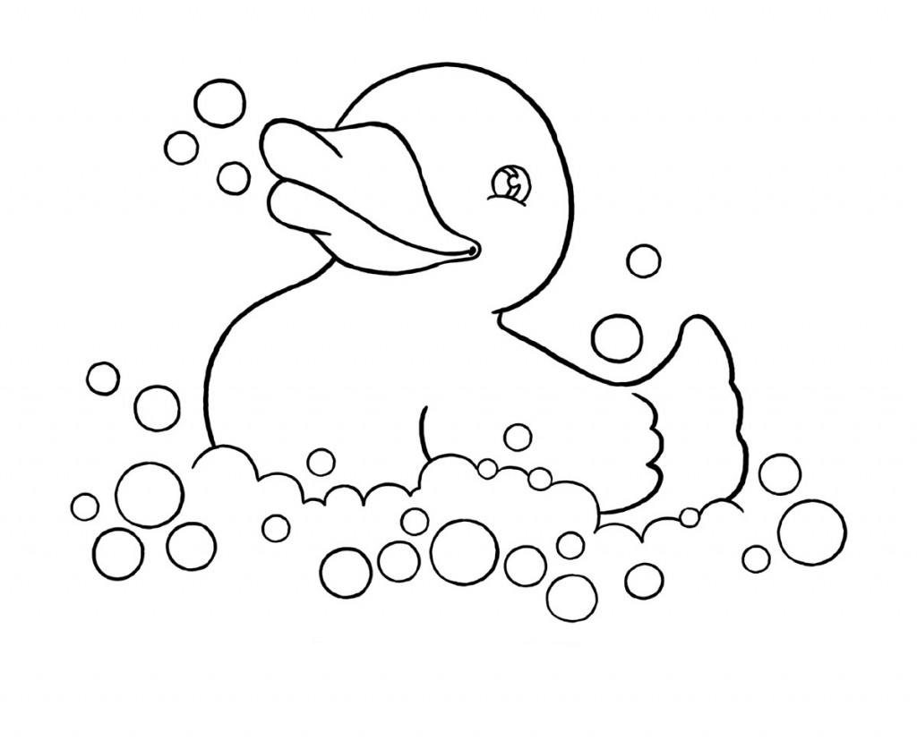 Free Printable Duck Coloring Pages For Kids