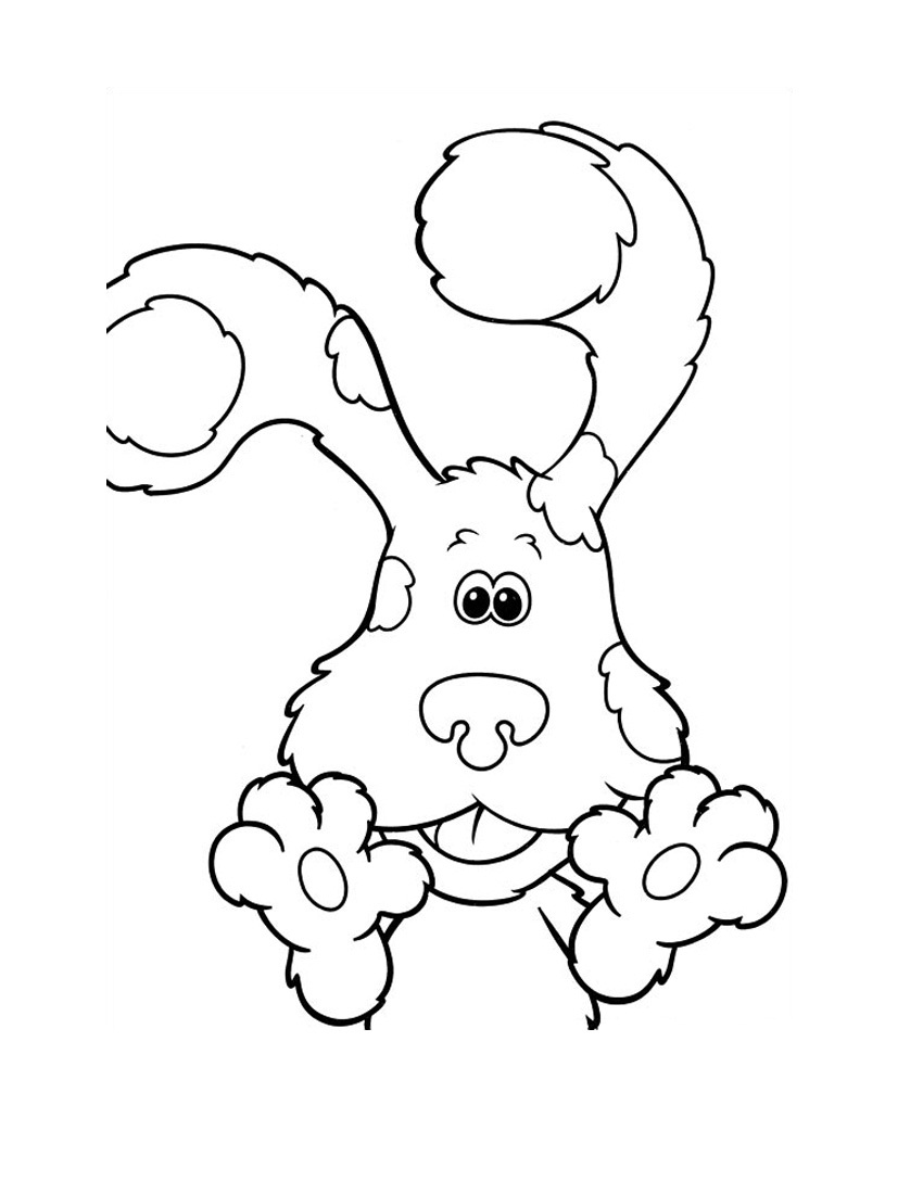 blues clues coloring pages resolution 1067x1509 categories blues clues