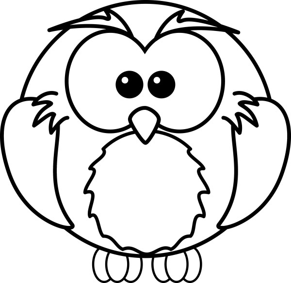 owl color pages # 5