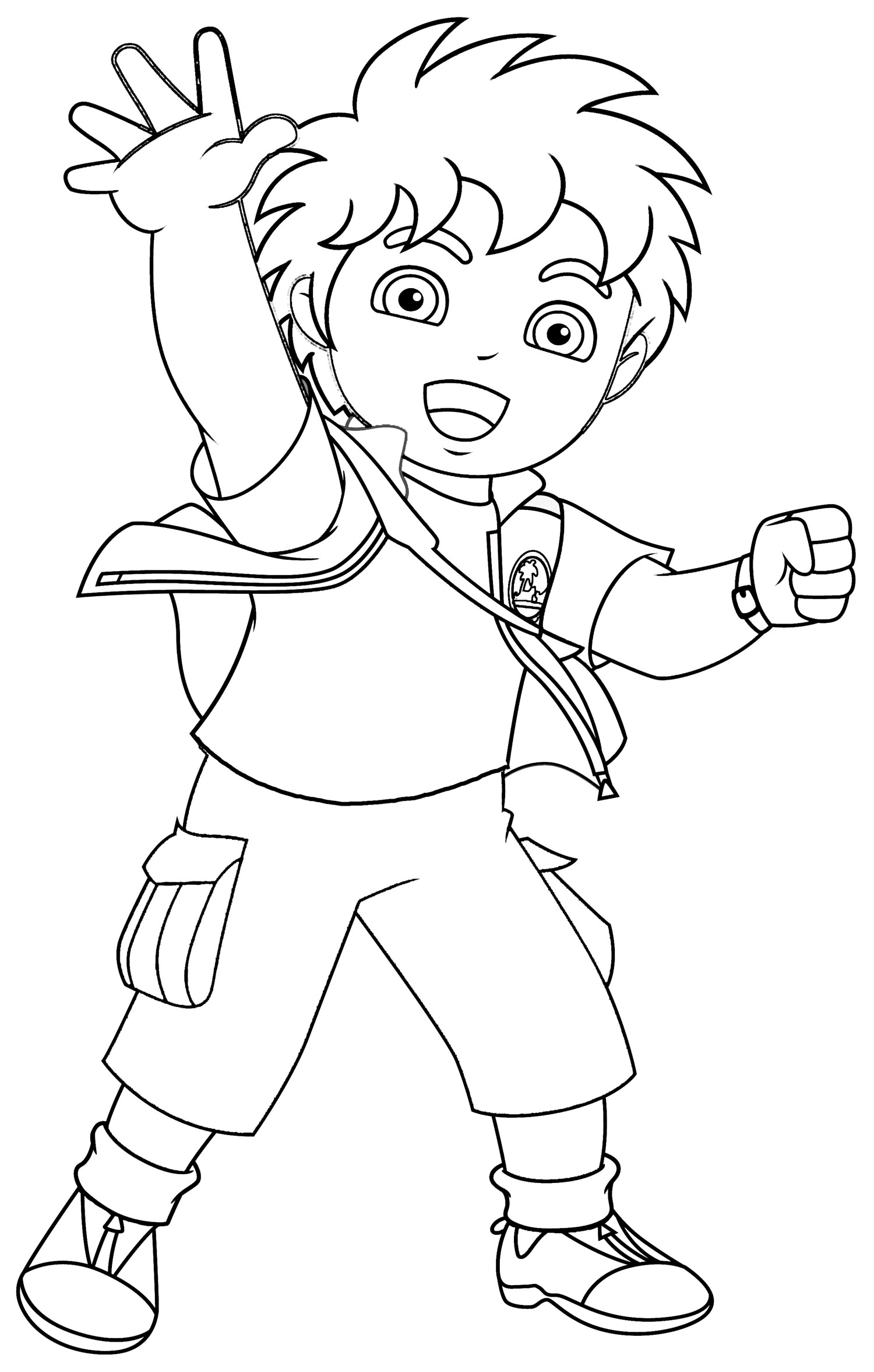 free printable diego for