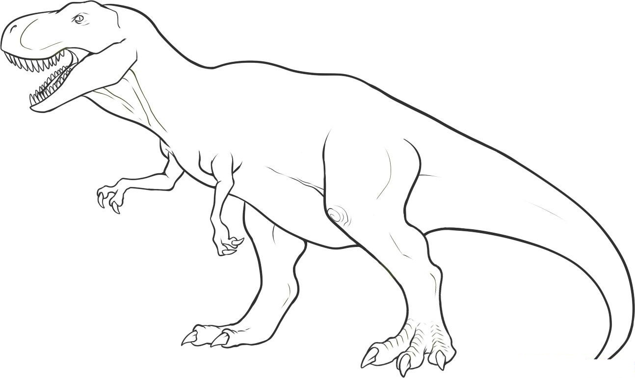 dinosaurs coloring pages free dino coloring page wemakesense co