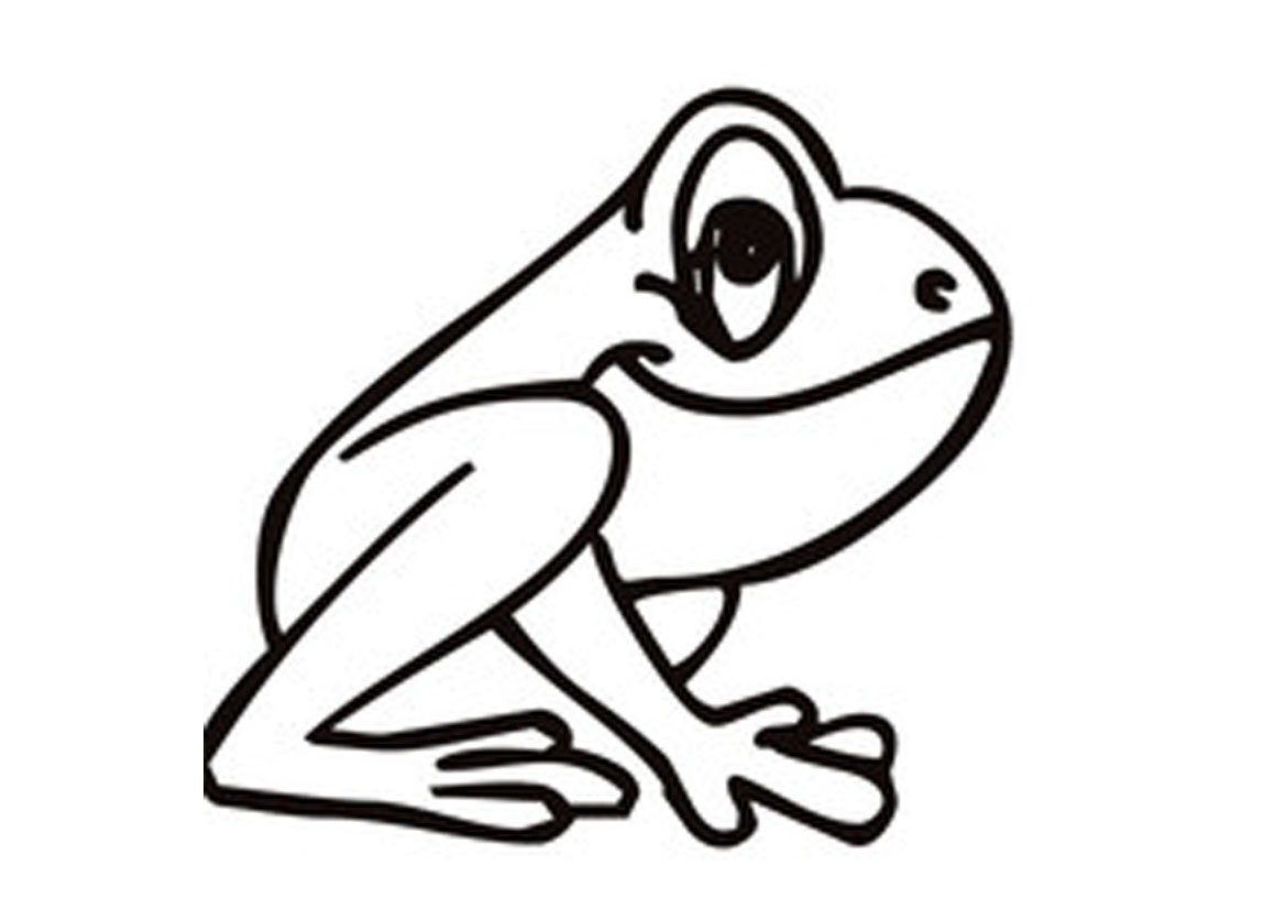 coloring pages frogs cartoon frog coloring pages jumping frog