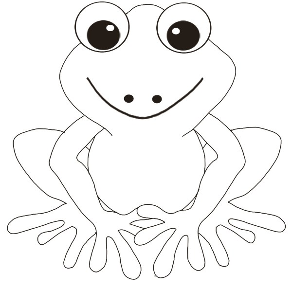 frogs coloring pages # 9
