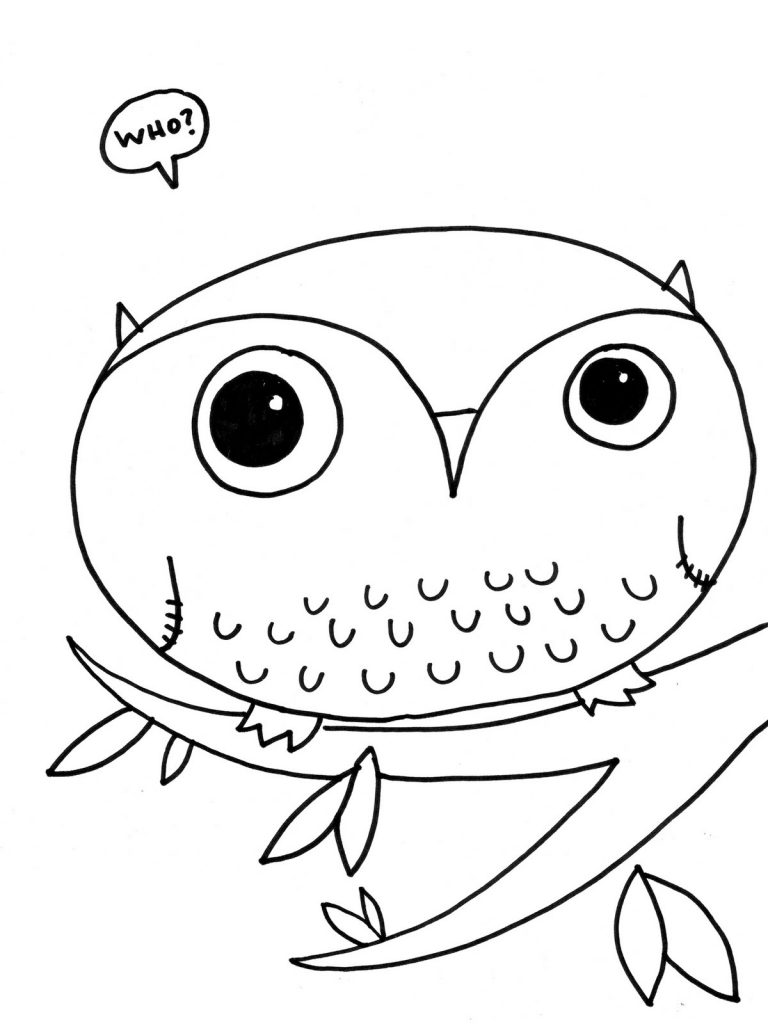 cute cartoon owls coloring pages cooloring com