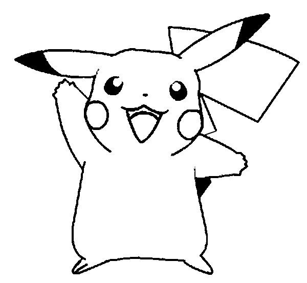 free printable pikachu for kids