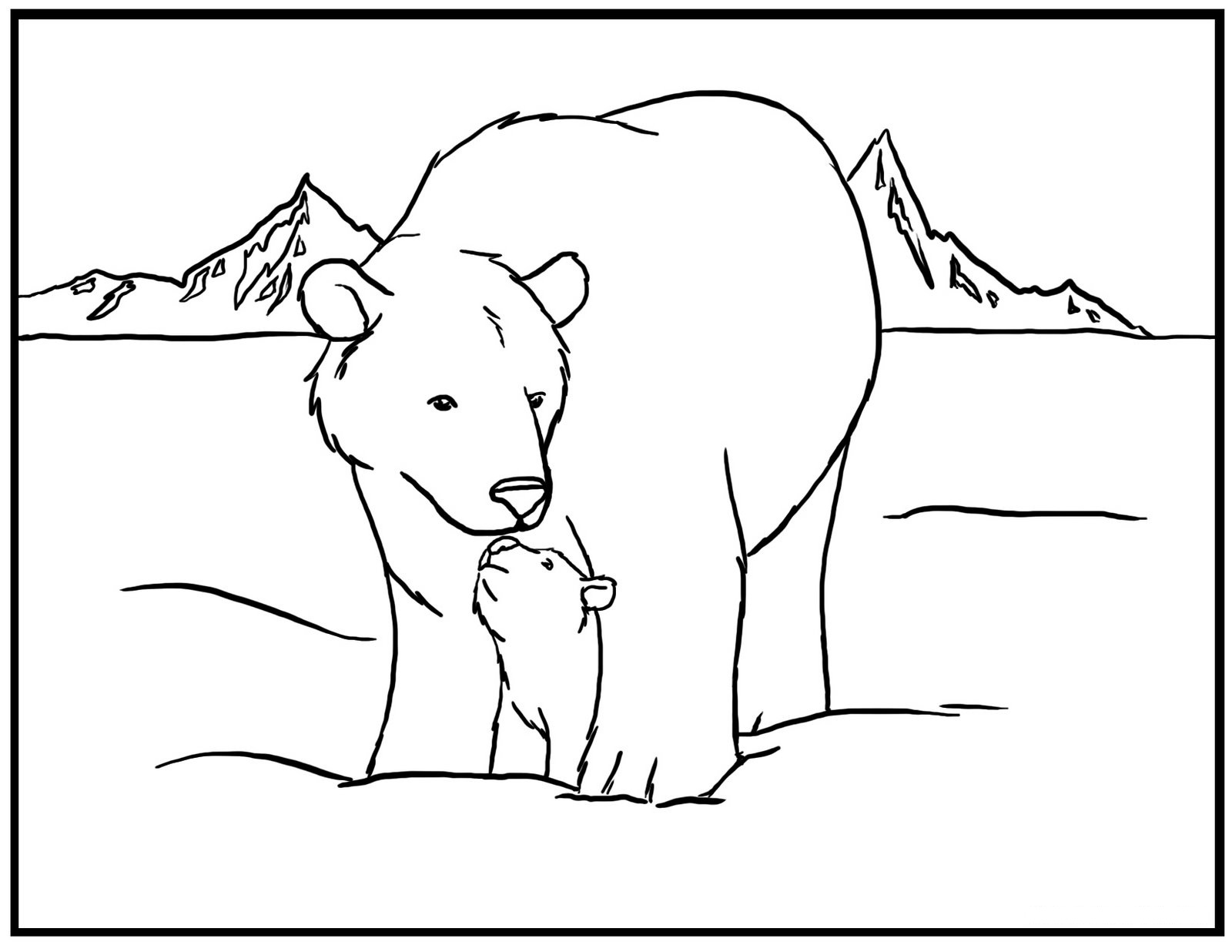care bear coloring pages black bear coloring page free printable